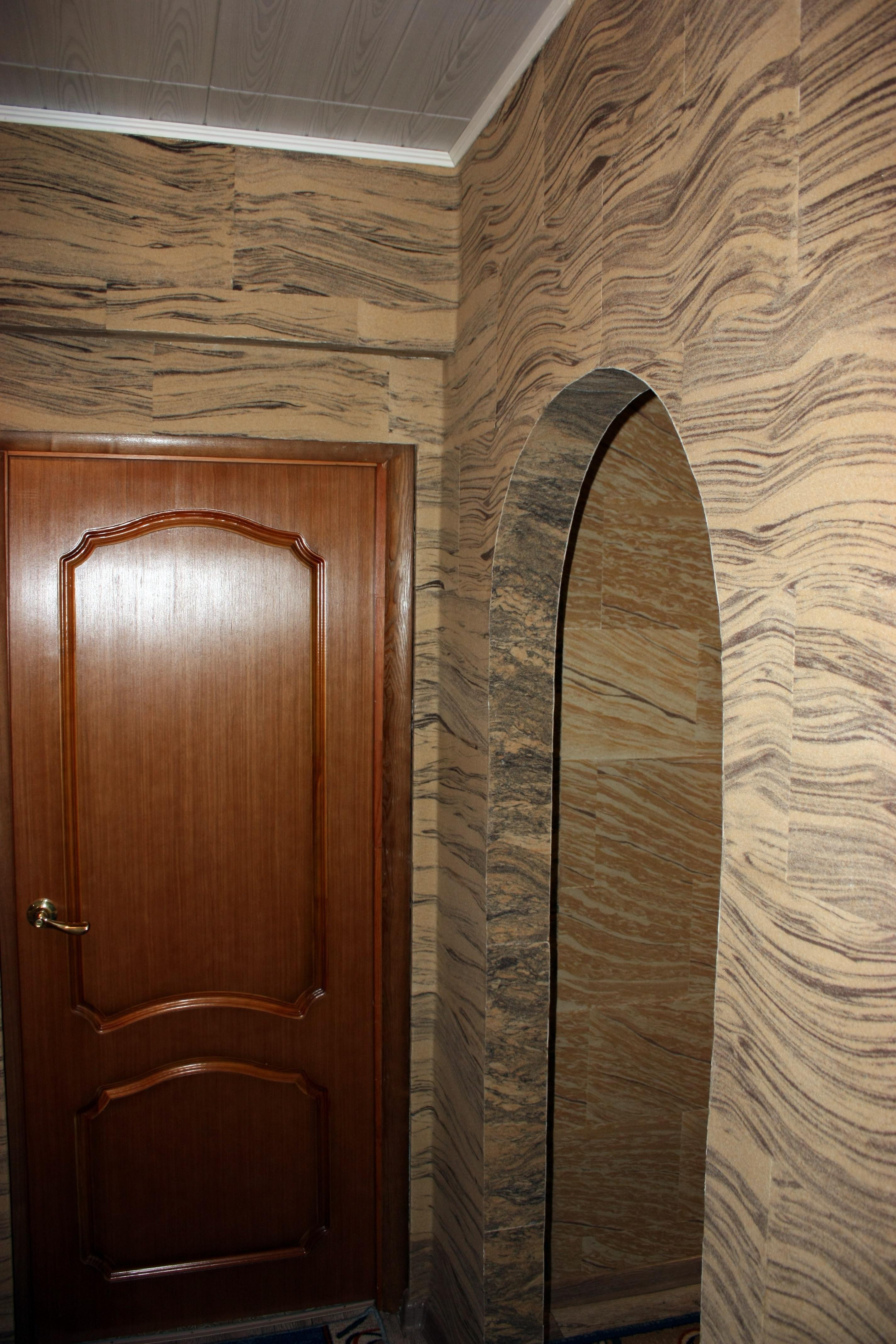 жидкий камень для отделки стен